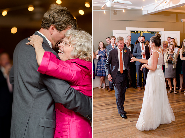 parents dance with couple