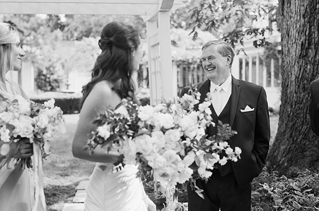 candid moment on black and white film - Sarah Der Photography