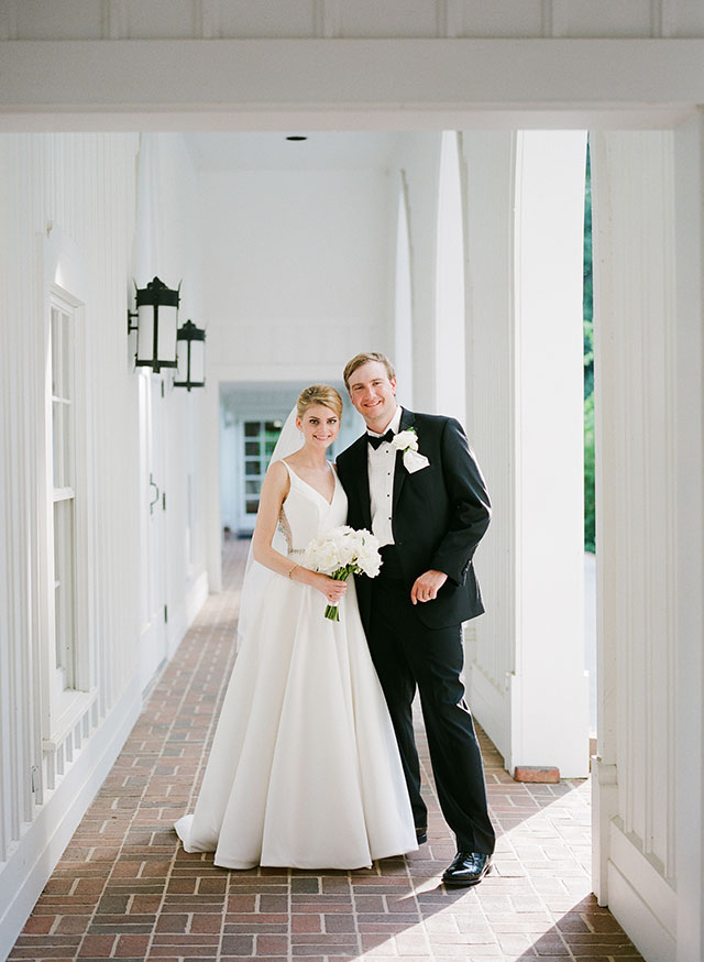 wedding day portraits at St. Mary's Episcopal Church  by Sarah Der Photography