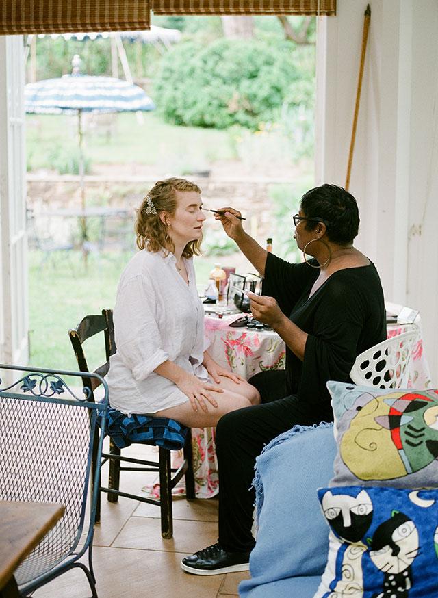 Joy Fennell Wedding makeup - Sarah Der Photography