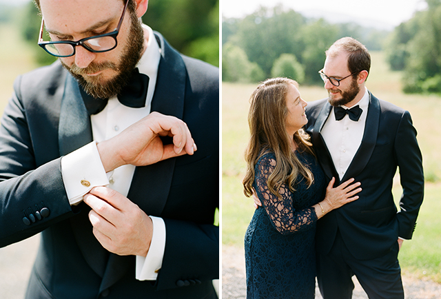 film photo of groom and his mom - Sarah Der Photography