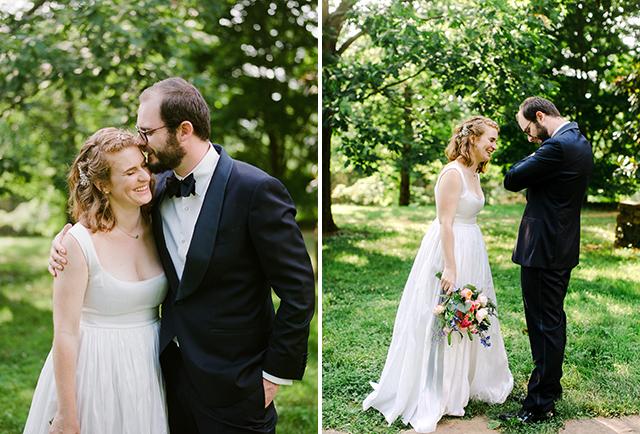 wedding day portraits on film - Sarah Der Photography