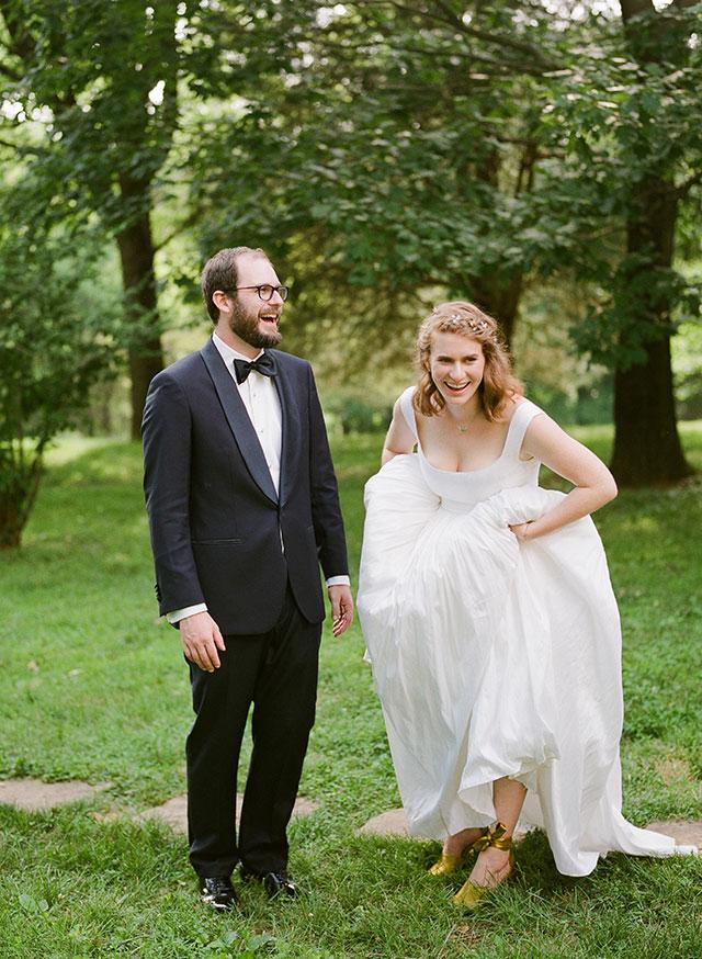 Film wedding day photos  - Sarah Der Photography