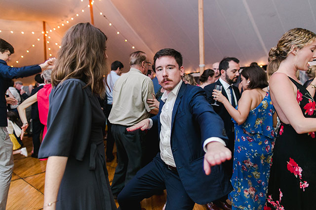 guest dancing like a loon