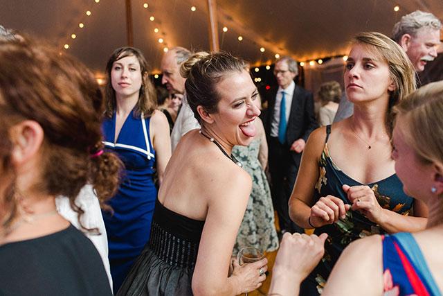 guest dancing and having fun