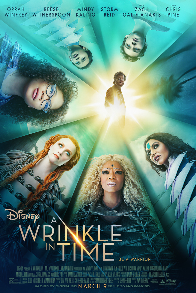 A Wrinkle in Time -  Ava Duvernay (2018)