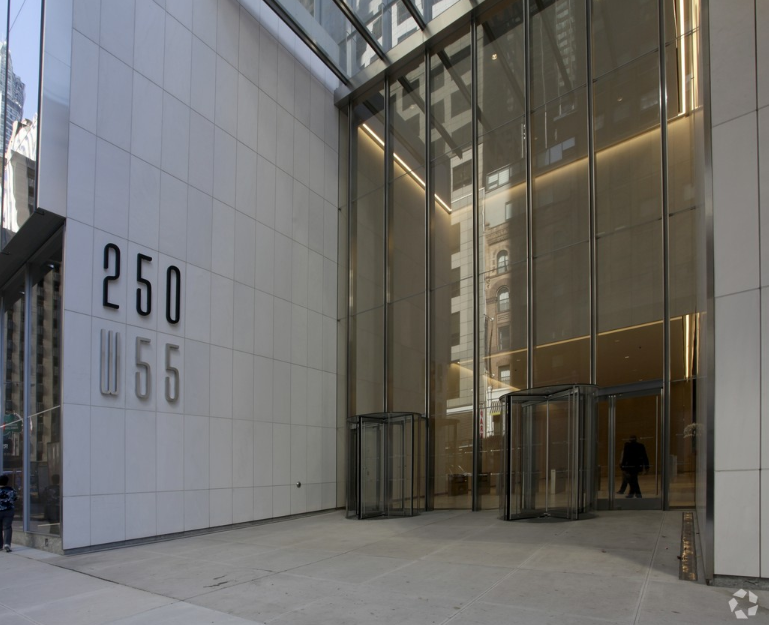250 West 55th Street Entrance.PNG