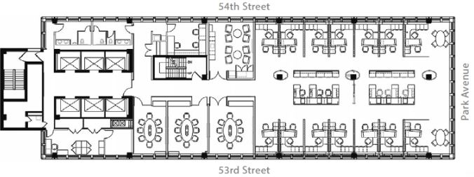 8th floor layout