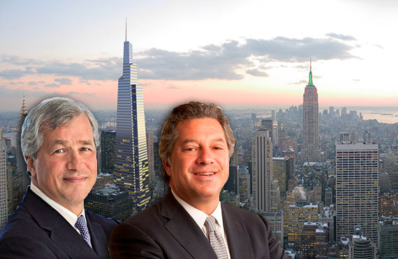 James Dimon, One Vanderbilt and Marc Holliday