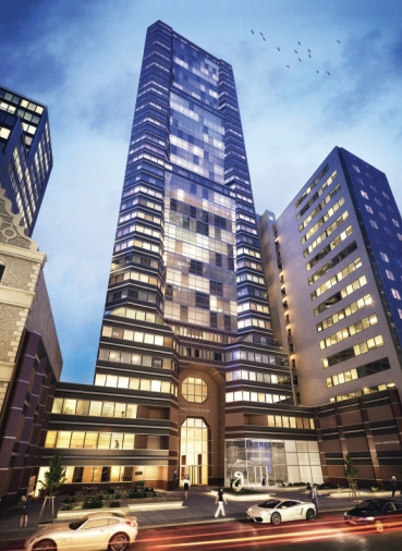 PARK AVENUE TOWER AT 65 EAST 55TH STREET. PHOTO: COSTAR GROUP