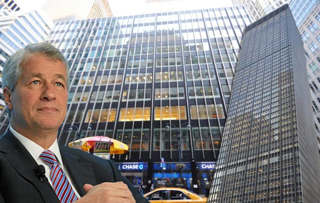 270 Park Avenue  and JPMorgan Chase's Jamie Dimon