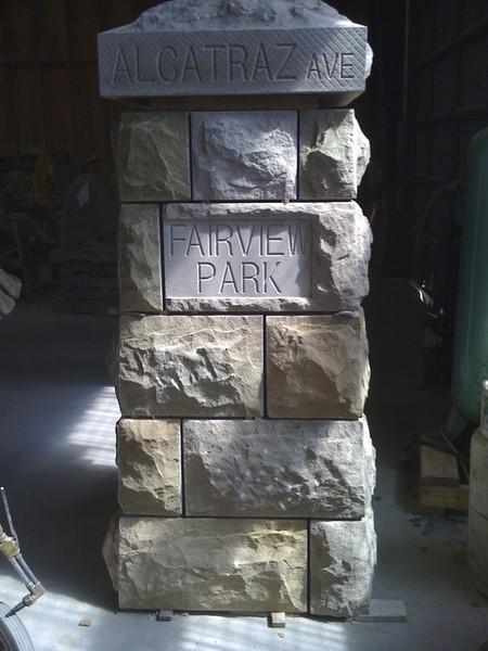Columns, Stonework, Engraving by Arriaga Masonry
