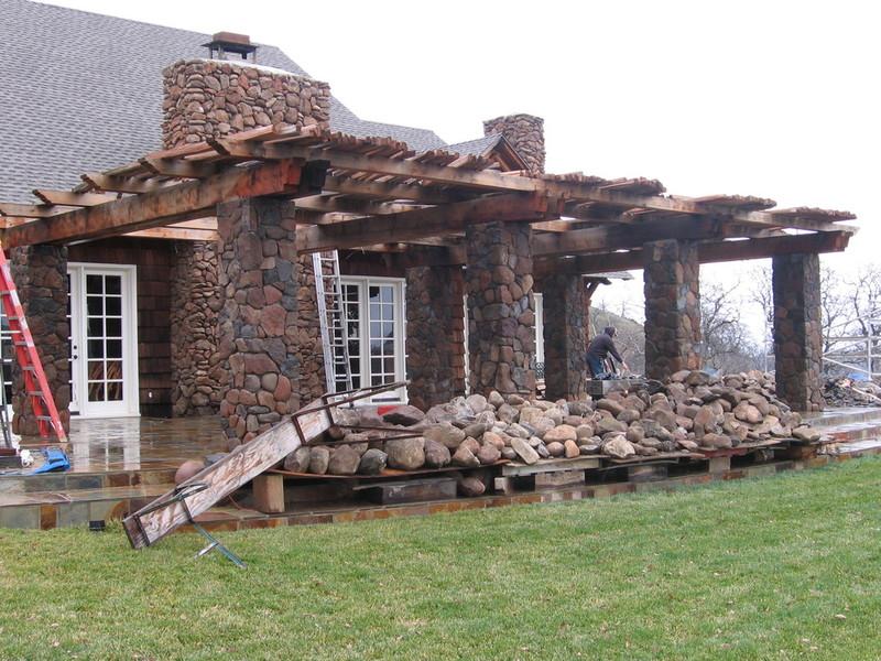 Columns, Stonework by Arriaga Masonry