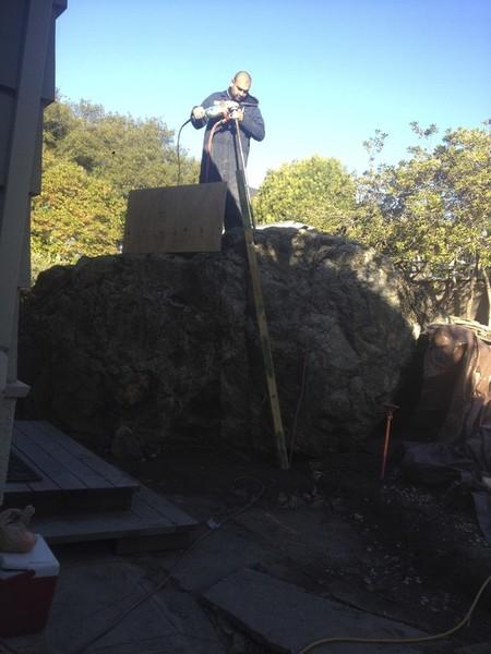 Onsite Fabrication, Stonework by Arriaga Masonry