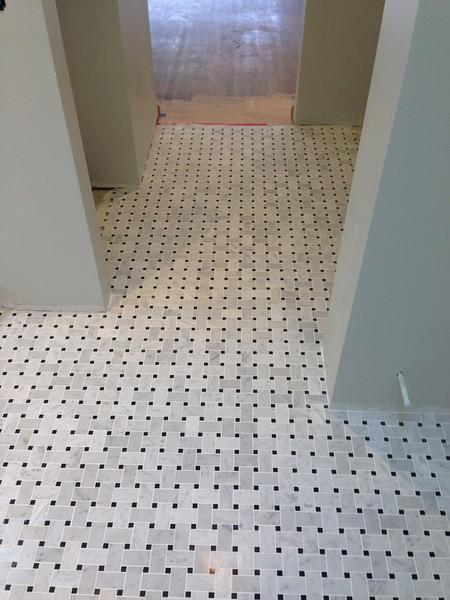 Indoor Floor Tile Work by Arriaga Masonry