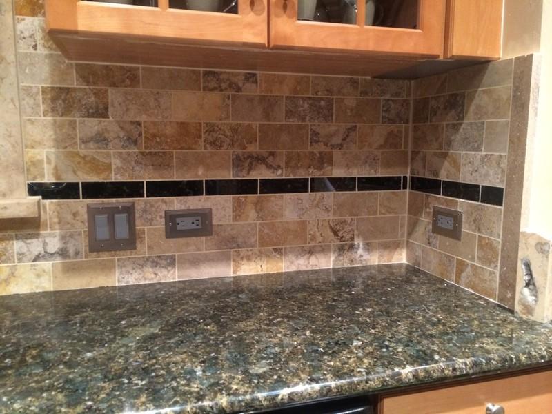 Kitchen Tile Work by Arriaga Masonry