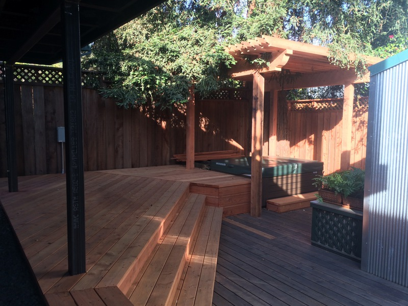 Woodwork, Stairs, Patiobuilt by Arriaga Masonry.