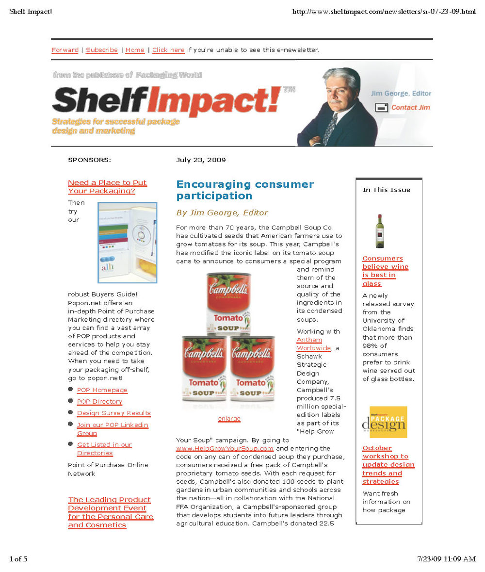 Shelf Impact: Campbell's