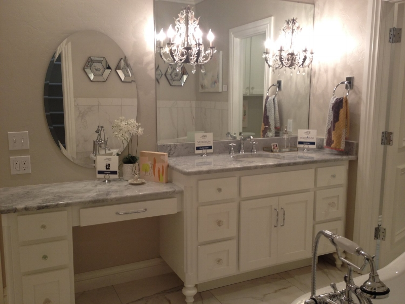 Remodeling a master bathroom Rivers' Edge Countertops Oklahoma