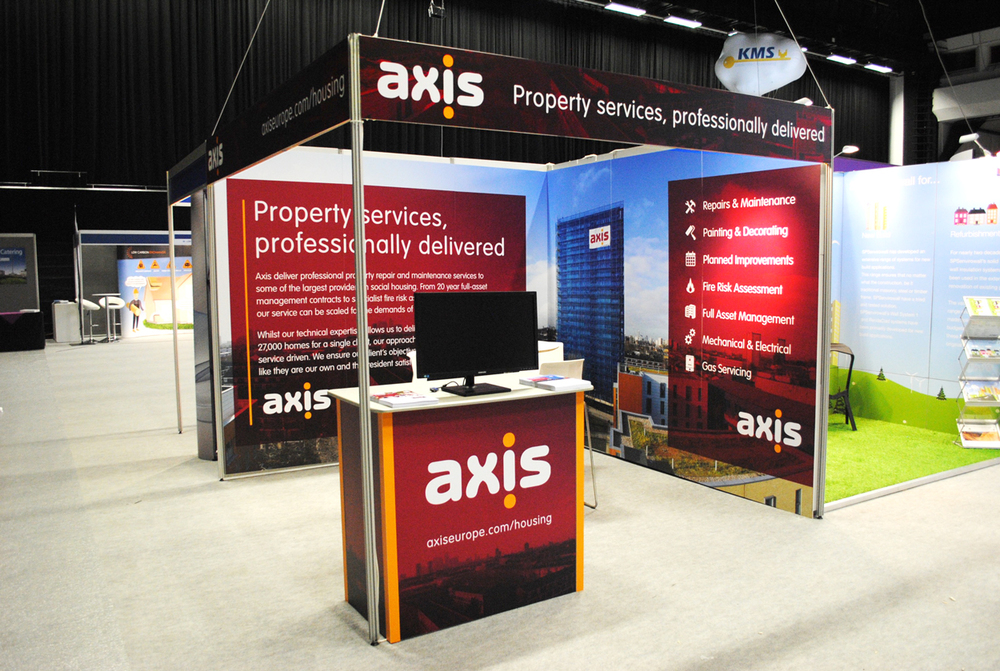 Exhibition Stand Europe : Exhibition stand for axis europe u2014 decoco
