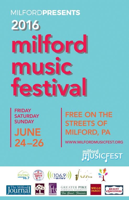 2016 milford music festival