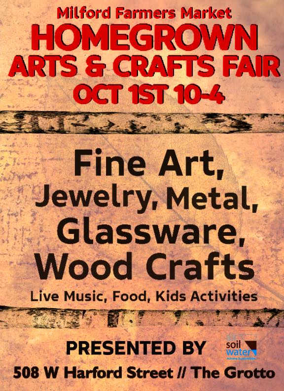 Homegrown arts and crafts fair