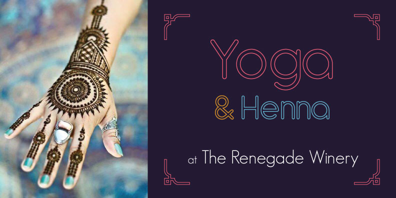 yoga and henna event