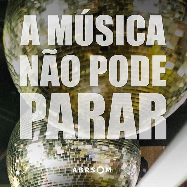 Música é vida!! 🎵🎶💕#cantstopthemusic #vemcomagente #melhoresdjs #abrsom