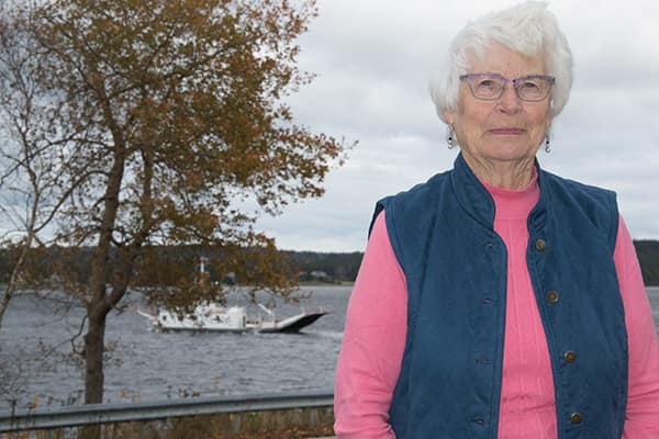 "The Ferryman's Wife - 90 years near the shores of the LaHave River. First-person ""as told to"" profile of Ramona Himmelman. Written for Saltscapes."