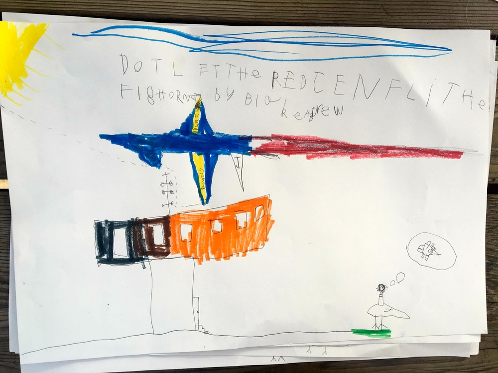 Don't Let the Pigeon Fly the F18 Hornet By Blake and Drew