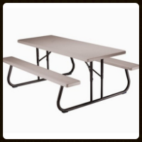 Lifetime 6' Picnic Table $24.00 each