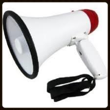 Bull Horn Megaphone