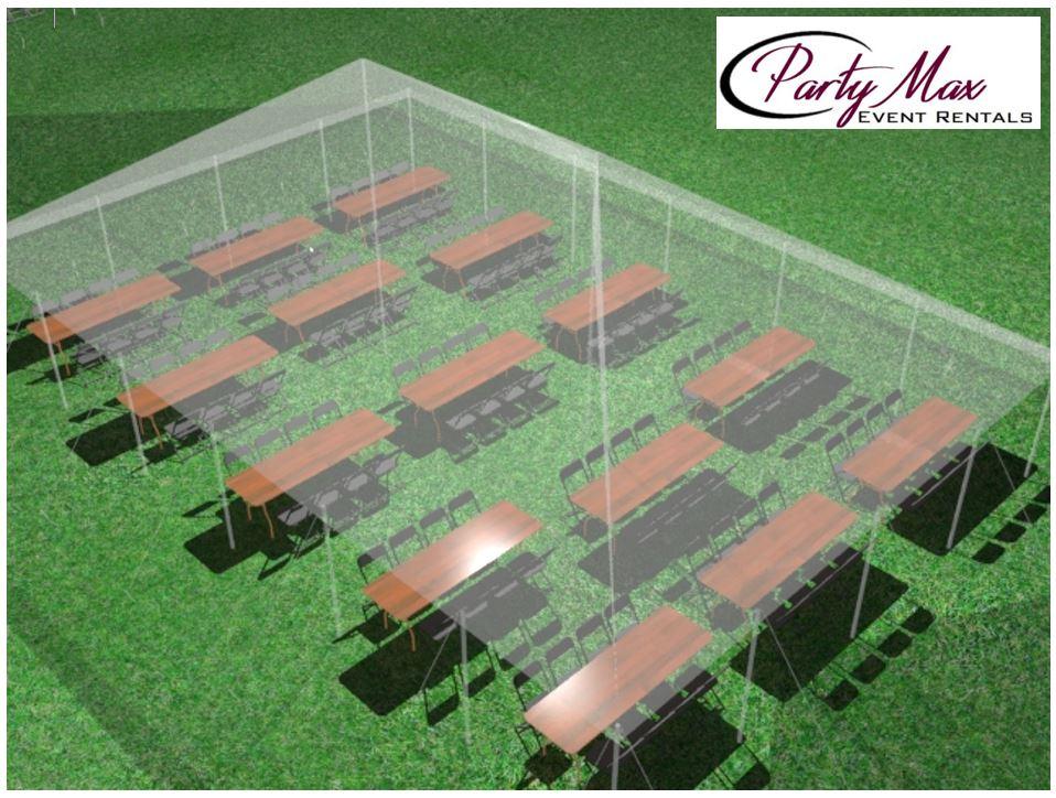 30u0027 x 60u0027 Canopy$935 & Tent Packages u2014 Party Max Event Rentals