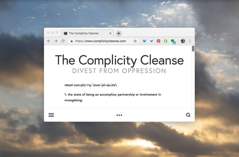 complicity cleanse