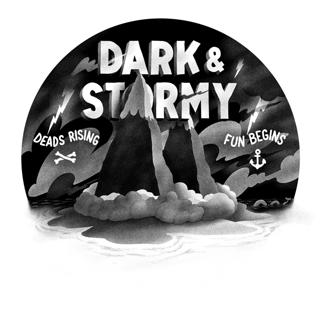 Dark & Stormy for my show at the @dudesfactory next week ( 28th )