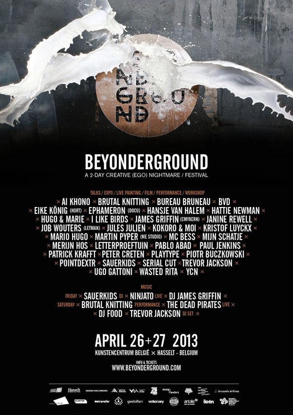 Going to be speaking at Beyonderground in Hasselt, Belgium, also going to be playing there with the Dead Pirates ! Woop hoop poop ! www.beyonderground.com/tickets