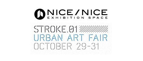 "Hey hey , the stroke fair is happening , and there will some of my ""art"" for sell at the nice/nice space in munich , it will be a shame to miss it if you're around ."