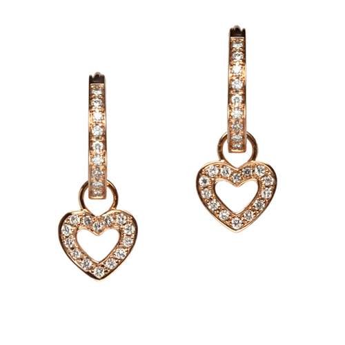 3640f07ad Classic Heart Earring Charms — Oliver Smith Jeweler