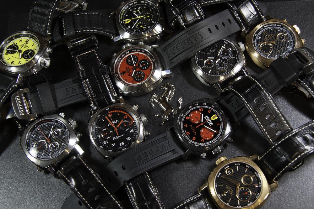 Ferrari set of FER5,6,7,10,11,13,15,30 and 38