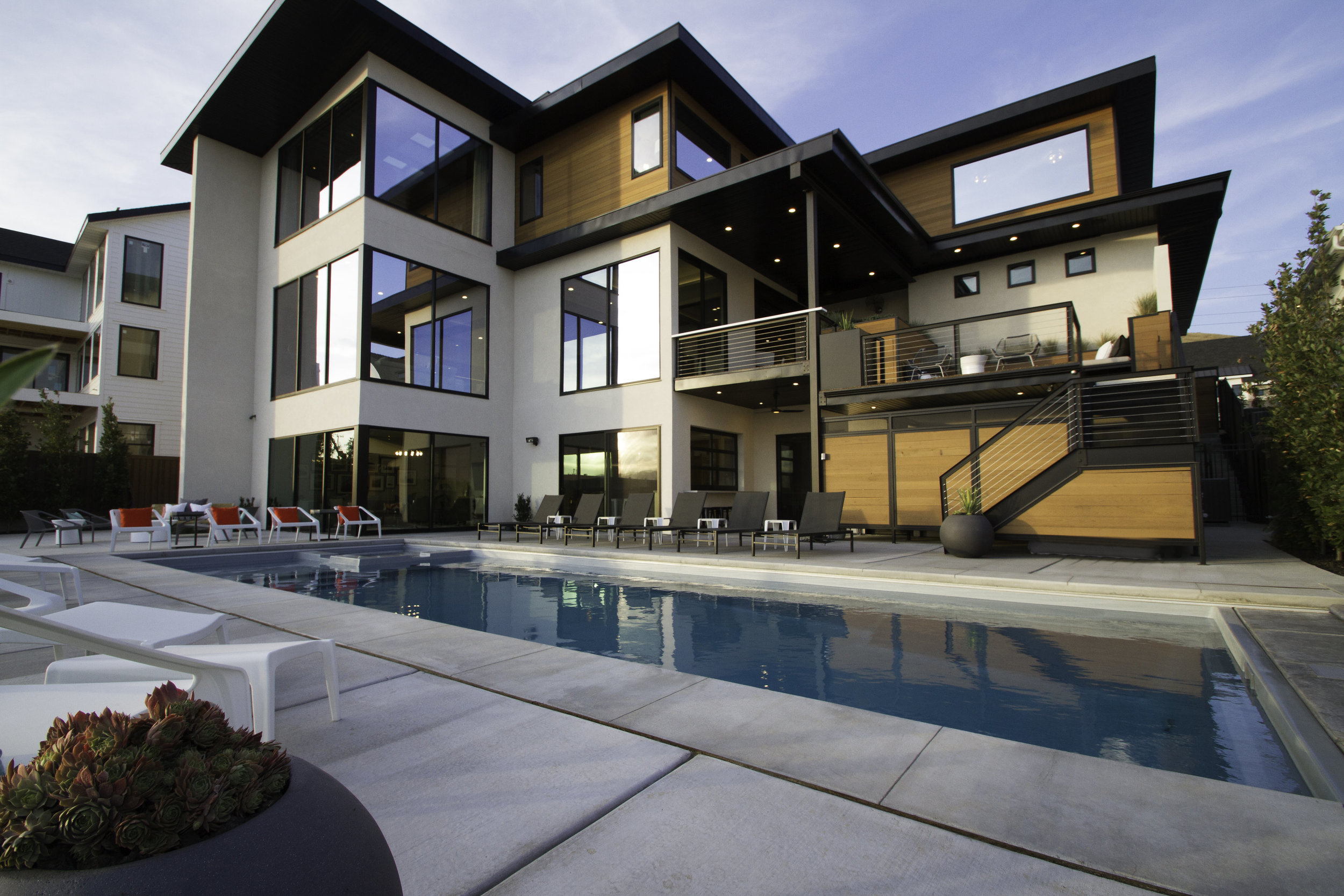 ezra lee design + build : utah modern custom home builder