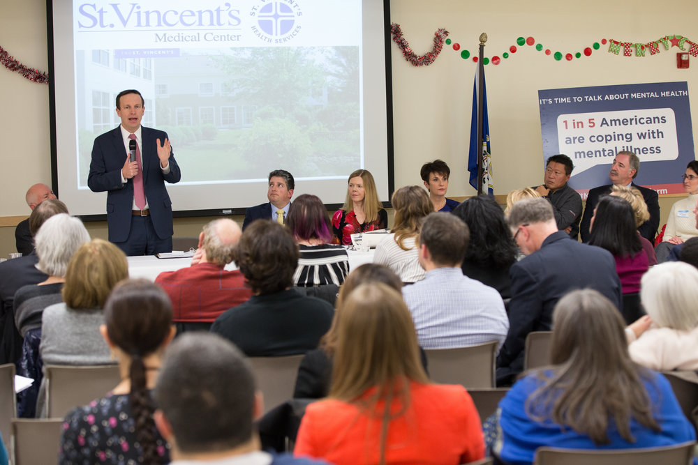 Senator Chris Murphy at St Vincents.jpg