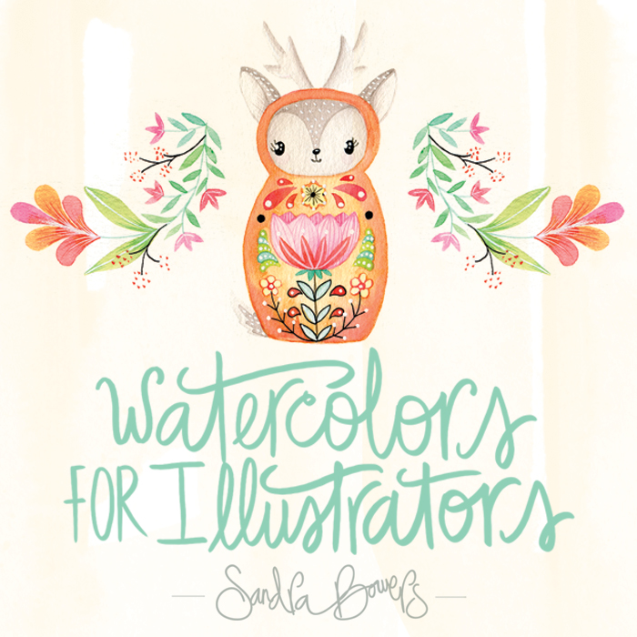 WatercolorforIllustrators-SandraBowers