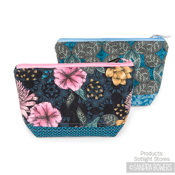 SANDRABOWERS-Twilight Blooms cosmetic pouches.jpg
