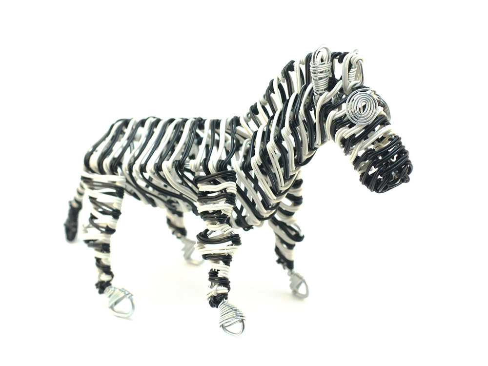 Scooby Wire Zebra
