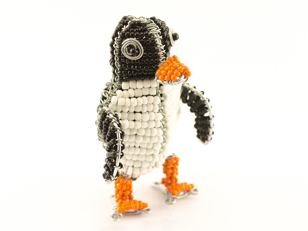 Beaded Penguin