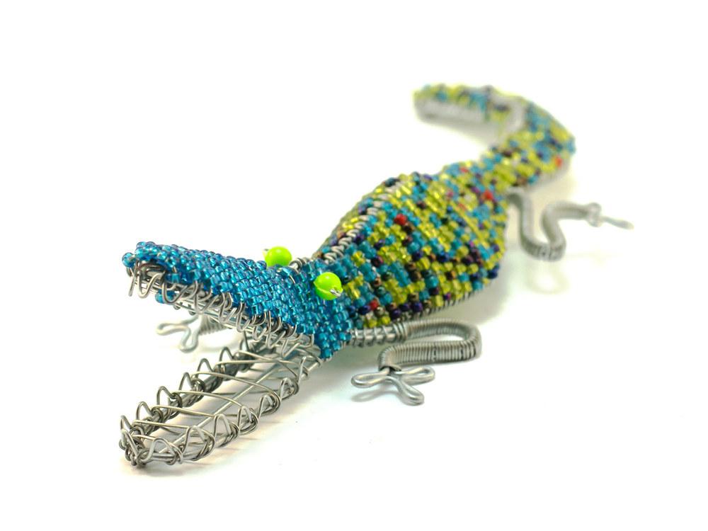 Beaded Crocodile