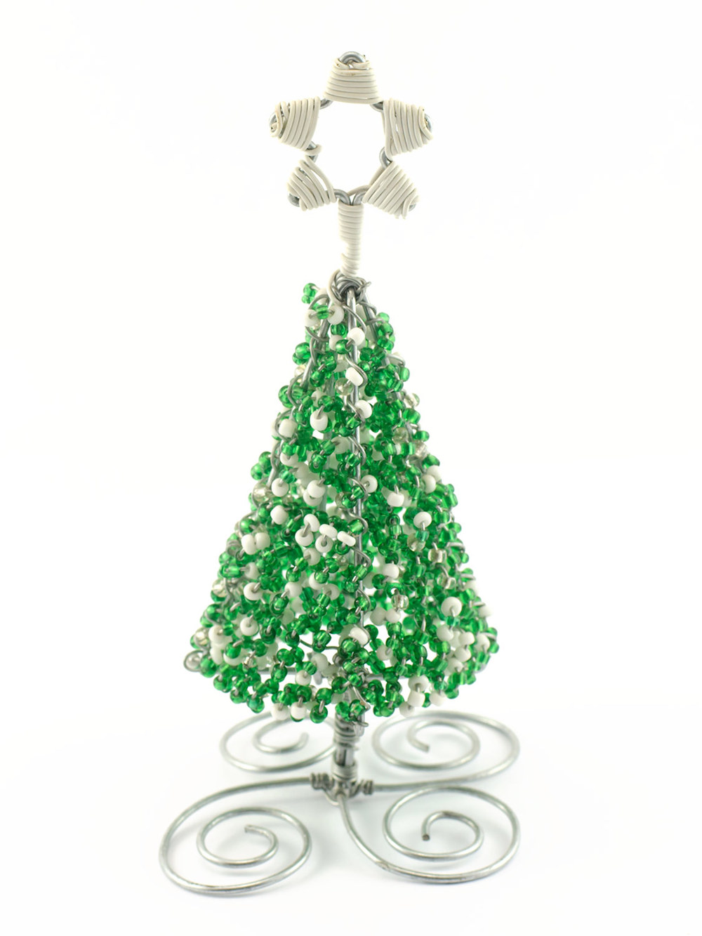 3D Conical Beaded Tree