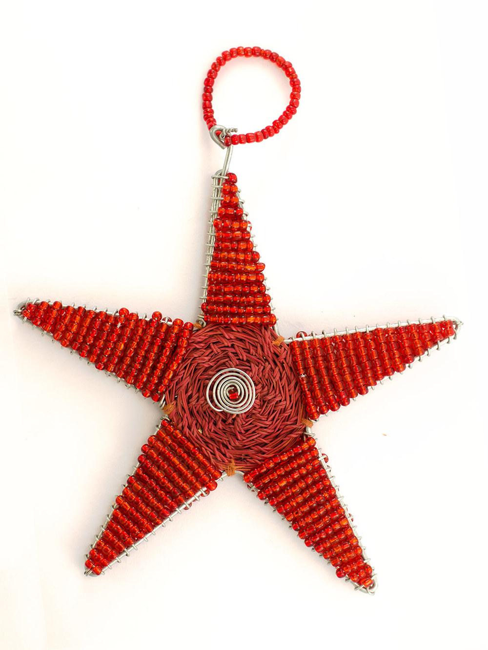 Grass Beaded Star