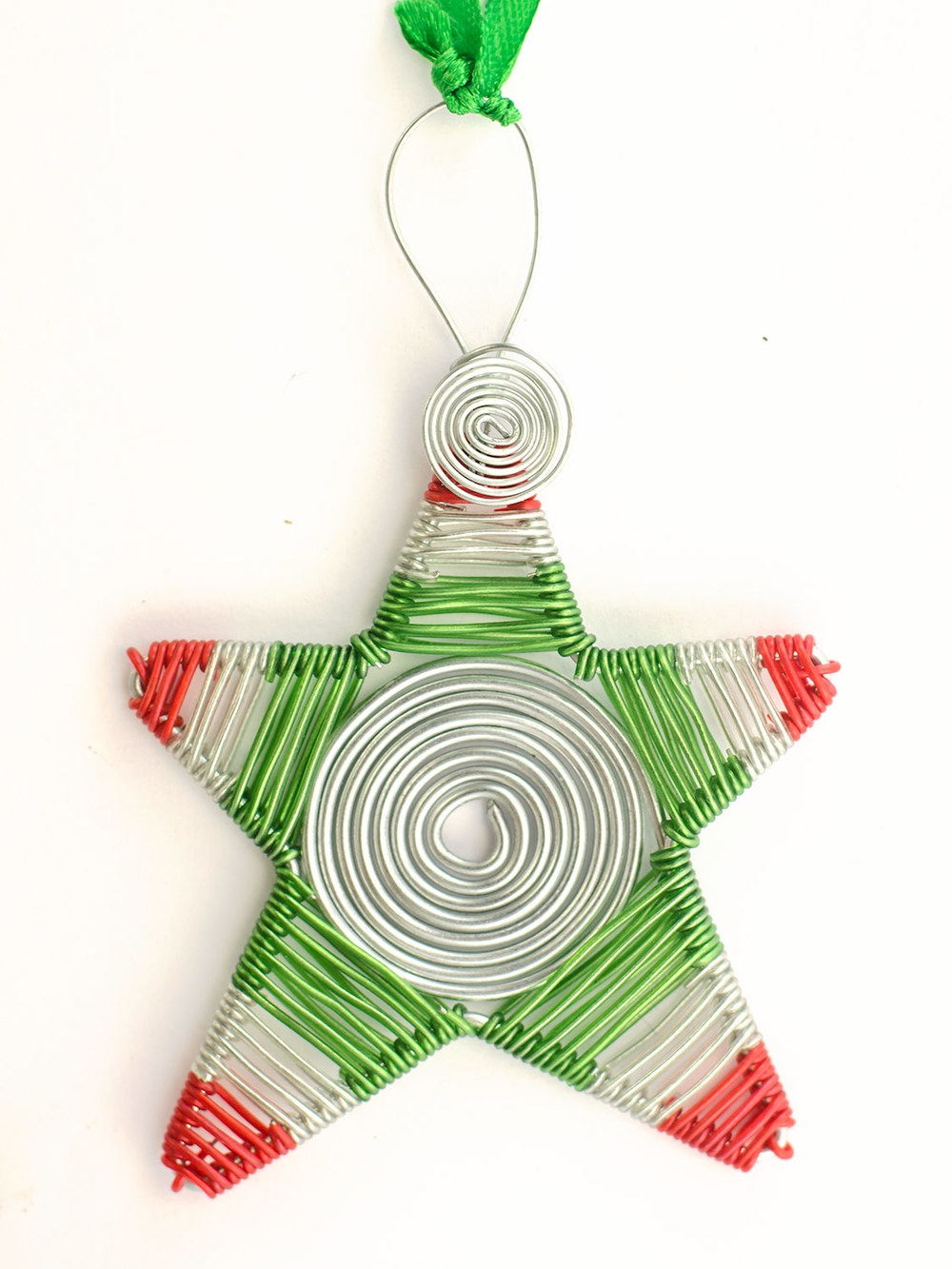 Spiral wire scooby star