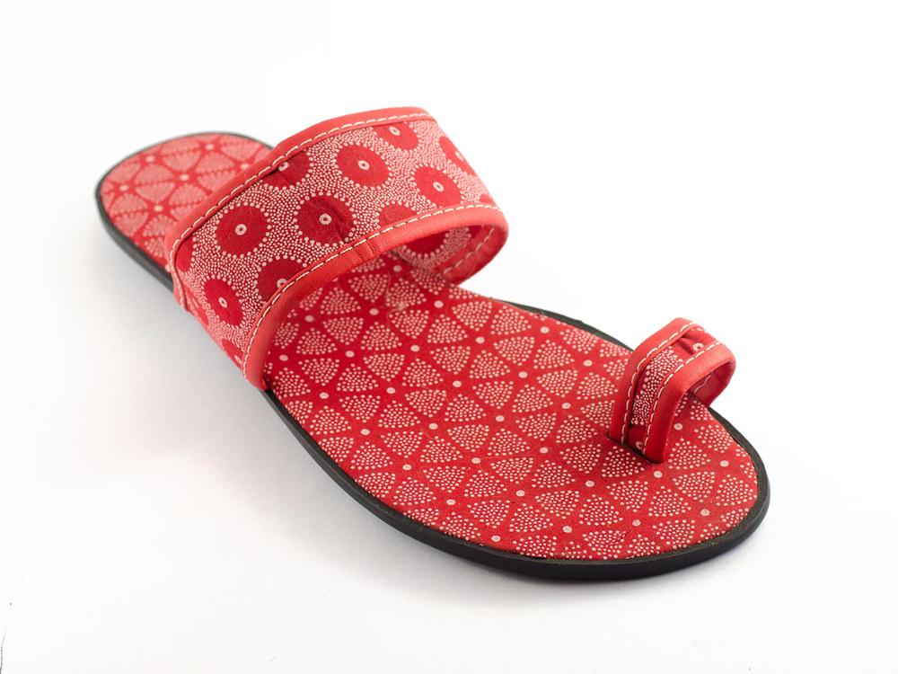 Shweshwe Sandals